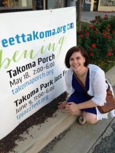 MaryAnn Ryan Founder Takoma Porch Music Festival