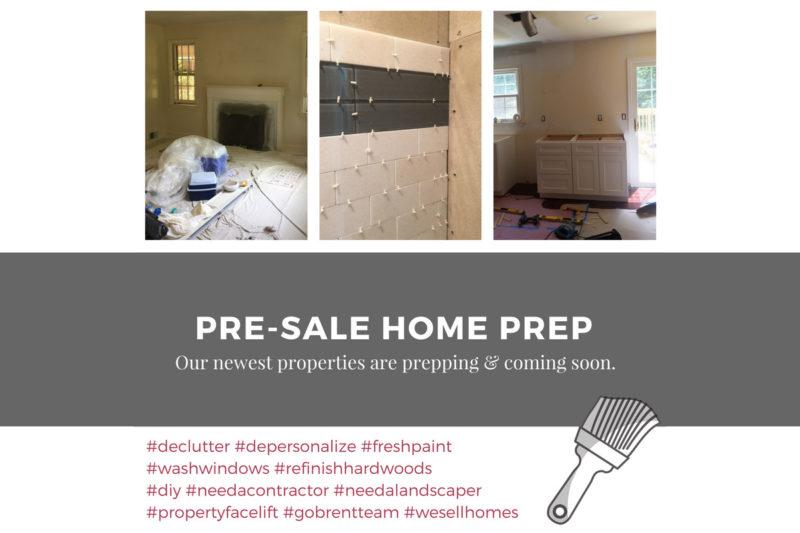 Pre-Sale Home Preparation