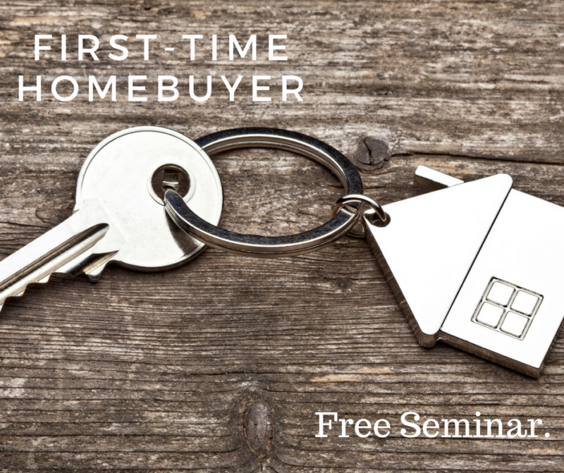 FREE First Time Home Buyer Seminar September 27